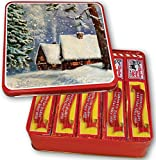5-1 Lb. Claxton Fruit Cake In Holiday Tin