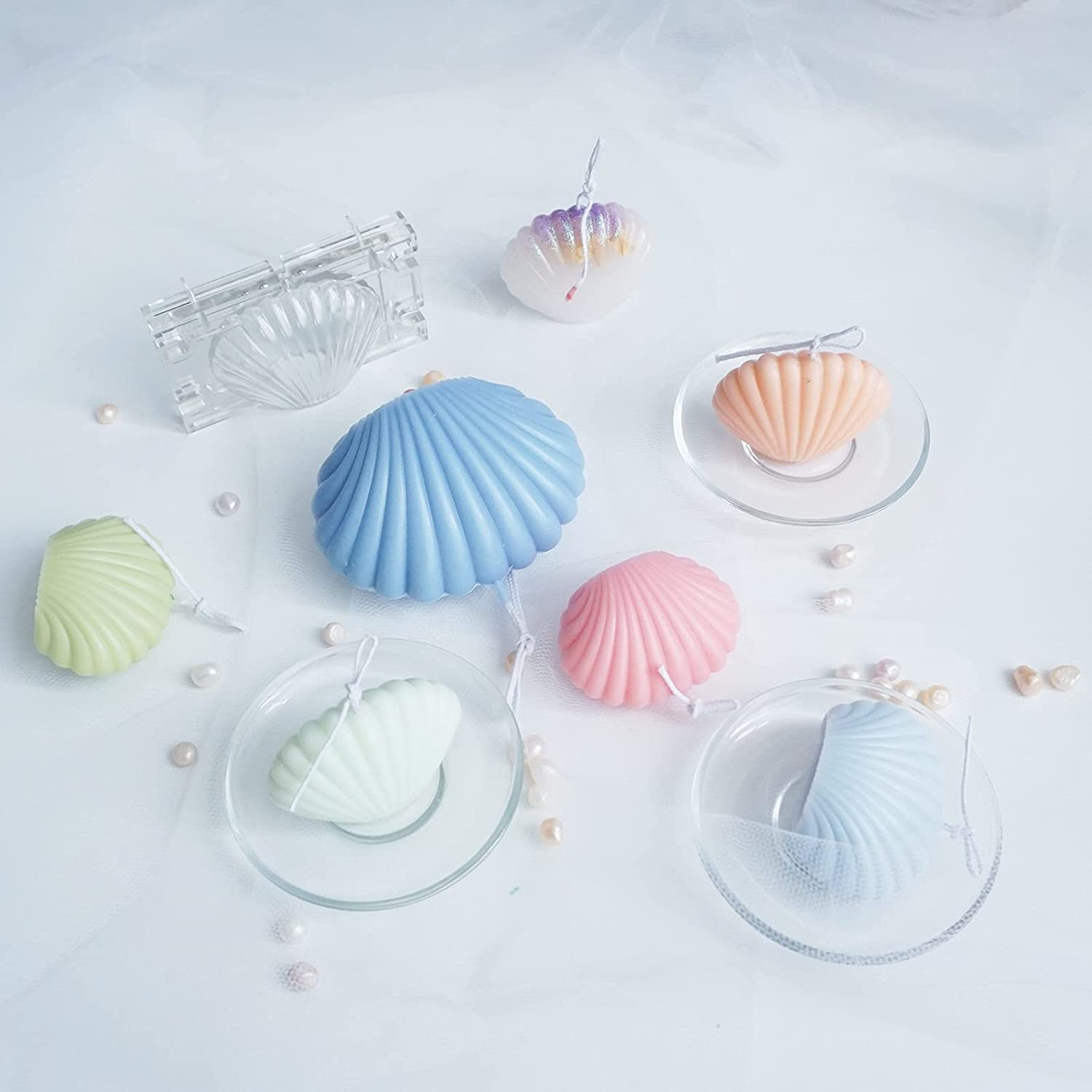 3D Silicone Candle Molds for Crafts New sales Handicrafts Financial sales sale Candl Making DIY