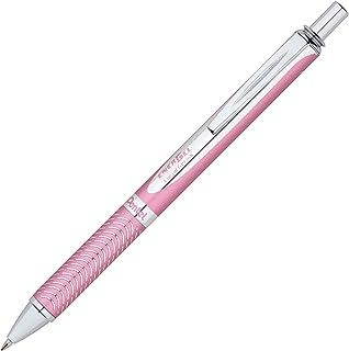 Pentel EnerGel Alloy RT Premium Liquid Gel Pen (0.7mm) Pink Barrel, Black Ink (BL407P-A)