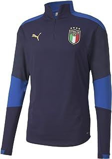 PUMA FIGC Training 1/4 Zip Top Felpa Uomo