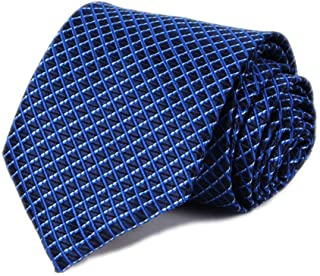 Kihatwin Men's Striped Ties Repp Smooth Graduation Formal College Suit Necktie
