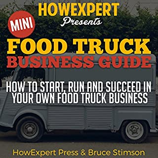 Mini Food Truck Business Guide audiobook cover art