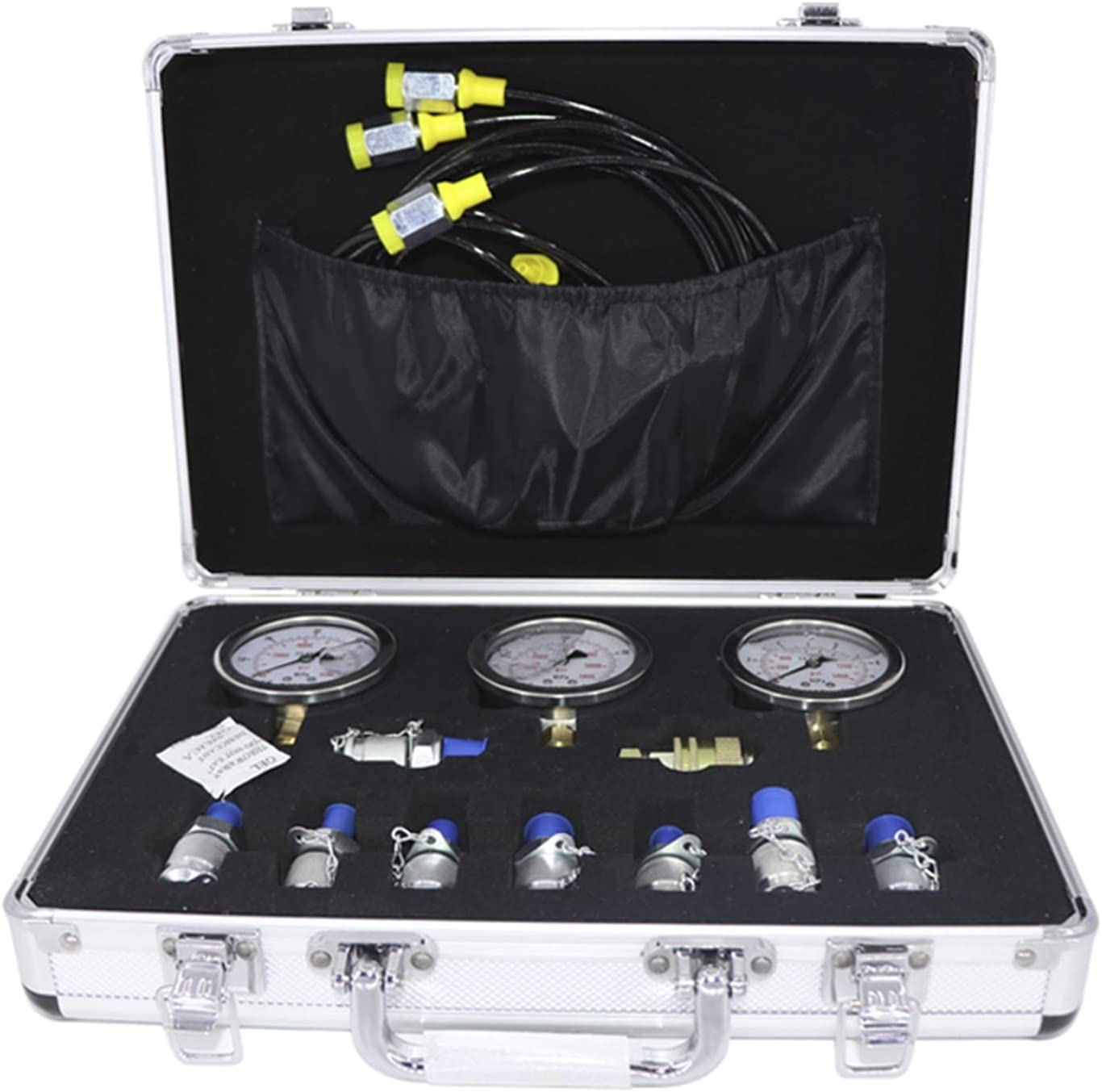 hydraulic tools Sale Special Price Portable Hydraulic Max 76% OFF Test Gauge Box Dig Mechanical