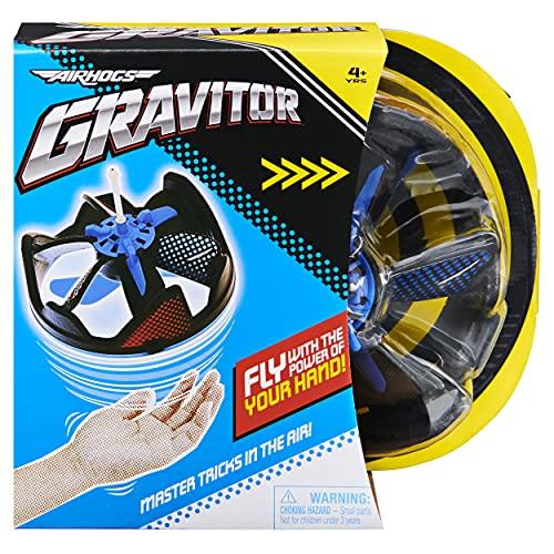AIR HOGS GRAVITOR, con asticella per acrobazie, giocattoli volanti ricaricabili tramite USB, drone per bambini dai 4 anni in su, 6060471