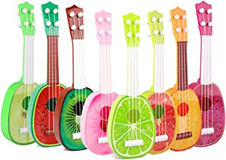 Niome 1PCS Cute Fruit Musical Guitar ukulele Instrument Toy Children Kids Educational Gift