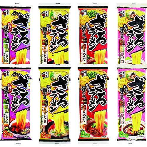 五木食品 『ざるラーメン4種×各2個アソート』