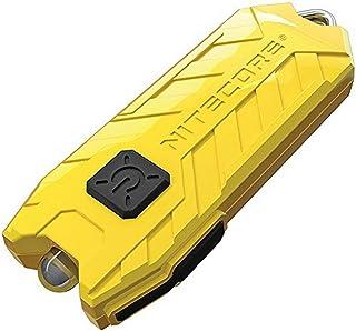 NITECORE Tube-LEM Nitecore Tube USB Rechargeable LED Keylight Pocket Keychain Flashlight (Lemon), Youth-Unisex, Lemon