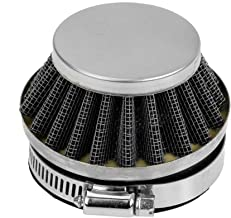 Sliver 58mm to 60mm Performance Air Filter for Dellorto Style SHA Carburetor Tomos A35 Minarelli Puch Parts