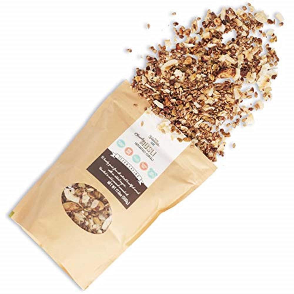 KZ Clean Eating Vegan Snack Healthy Food For Breakfast Keto Paleo Granola Low Carb 8.8oz
