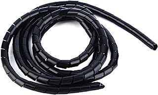 Envoltorio de cable en espiral de polietileno, 6 mm de diá