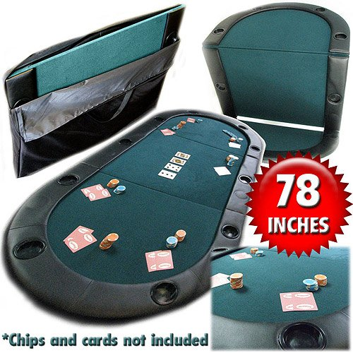 Why Choose Trademark Poker Texas Hold\'Em Folding Tabletop w