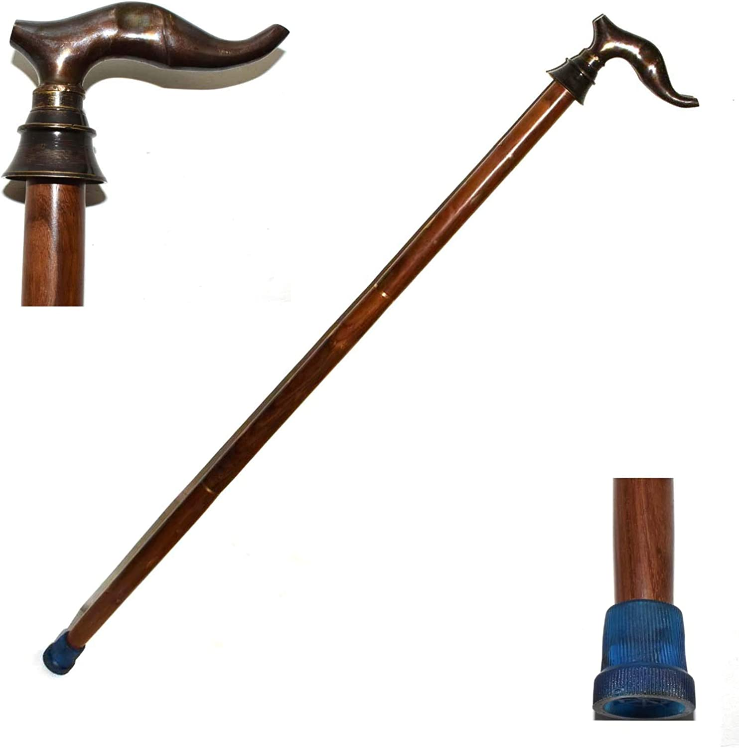 Max 86% OFF Handmade Wooden Folding Walking - lowest price Stick Handcrafted Cane