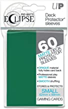 Ultra Pro 85831 Eclipse Small Pro Matte (60 Pack), Forest Green
