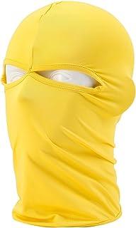 Windproof Full Balaclava Face Mask/Ultra-Thin Neck Gaiter Ski Hood Outdoor Sports Cycling Hat
