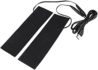 Akozon USB-värmematta 1 par 5 V USB elektrisk värmeelement film uppvärmningspads för uppvärmning