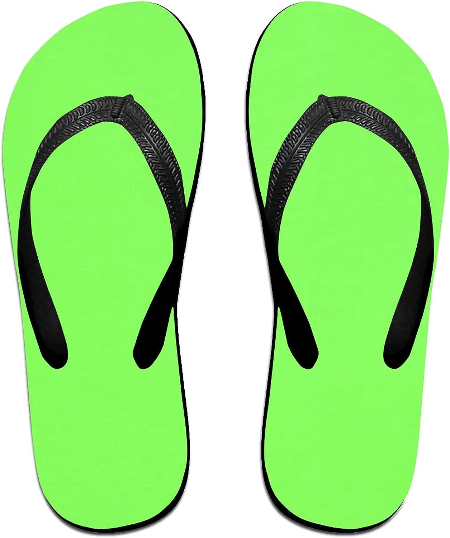 Women's Flip Flops Fluorescent Green Thong Print Mens B Max 51% OFF Sandals Denver Mall