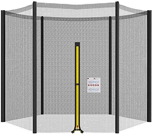 NYZXH Caja de Seguridad de rehabilitación de reemplazo de trampolín Red Red Redround UV Resistente a la Red Fuertes para la mayoría de la Red de trampolín de jardín al Aire Libre