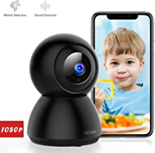 Victure 1080P FHD WiFi Camera with Motion Tracking Sound Detection 2.4 G WiFi Security Indoor Camera with 2-Way Audio, Night Vision, Home Camera for Baby/Pet/Elder