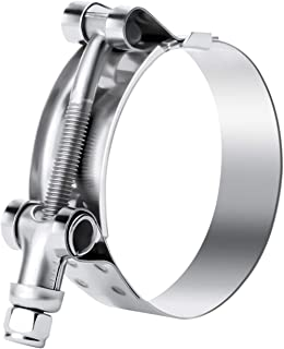 Bolt and Nut 2-29//32 to 3-3//16 Kuriyama TBC-SS079 Heavy Duty T-Bolt Hose Clamp 304 Stainless Steel  Band