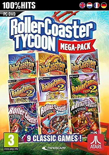 Rollercoaster Tycoon - Mega Pack 9 Jeux Classiques [Importación Francesa]