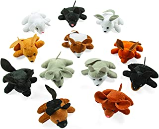 Plush Dog Pound Assortment (24 bean bag stuffed animals) Party Favors, Plush Toys