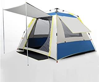 Tents for Camping Waterproof Outdoor Camping Tent Durable and Waterproof, Family Large Tent 4 People, Double Tent with Por...