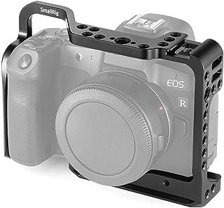 SMALLRIG EOS R Cage Jaula Compatible con Canon EOS R Cage con Cold Shoe Incorporada y Diseño Anti-torsión - 2251