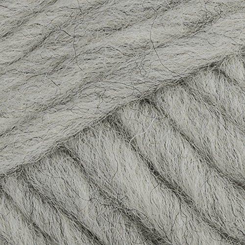 Ovillo de lana pura para tejer con diseño de gotas de eskimo, 1.8 oz, 55 yardas por ovillo