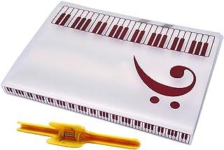 Perfk A4 Sheet Music Folder Clip For Piano Guitar Violin Perform Practice Parts