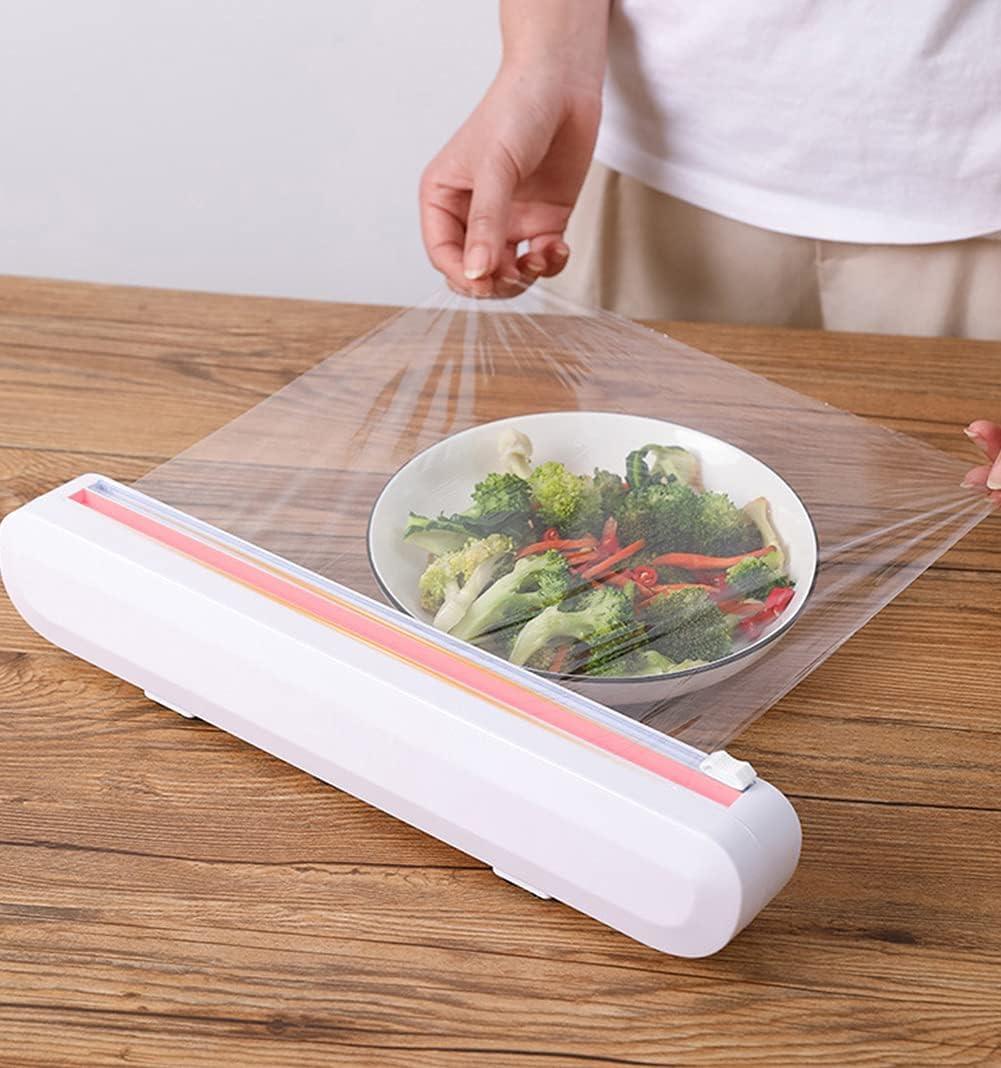 WOIWO 1 PCS Sucker Type Plastic Home Wrap Adjust Cutter Splitter It is very popular Max 86% OFF