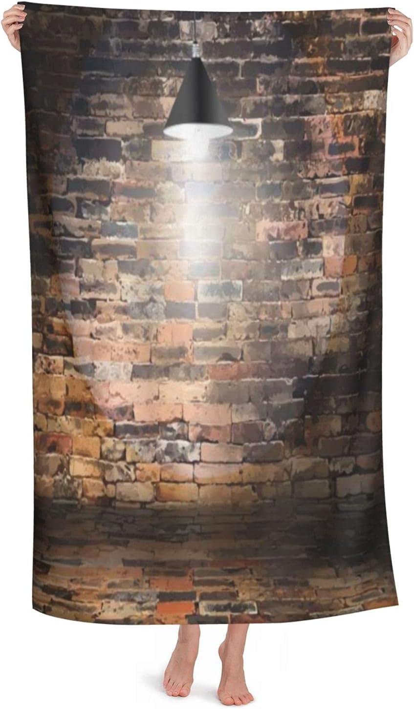 Superfine Fiber Large Selling rankings Light Miami Mall Bathroom Brick Absorbent Sheet Wall