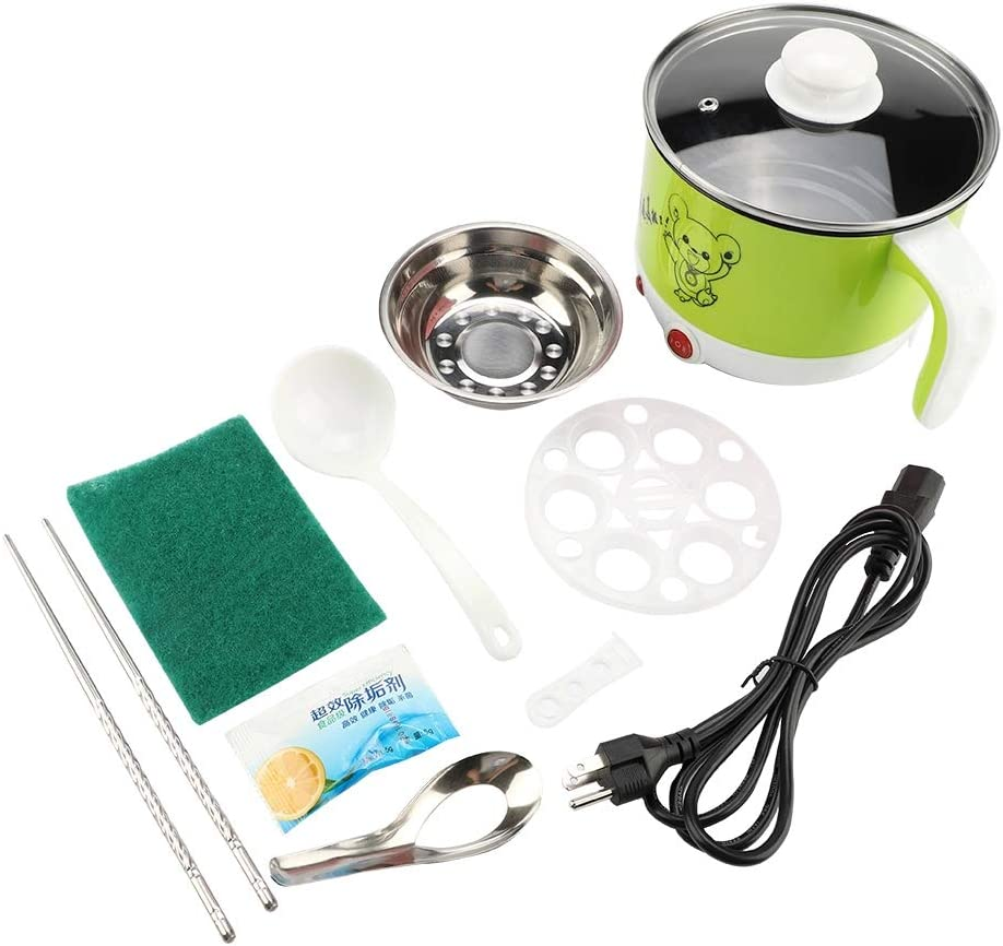 Aukson Mini Electric Cooking Pot おすすめ Steel ショッピング 1.5L 304 Stainless 110V