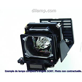 Replacement Lamp Assembly with Genuine Original OEM Bulb Inside for Sony VPL-VW600ES Projector Power by Ushio