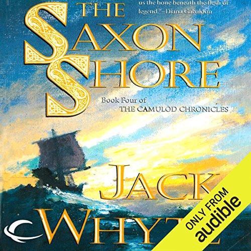 The Saxon Shore audiobook cover art