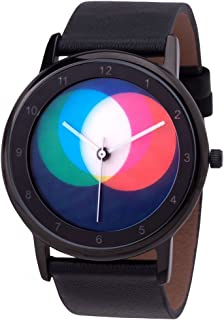 Avantgardia RGB - Reloj de pulsera, unisex, con caja de acero inoxidable