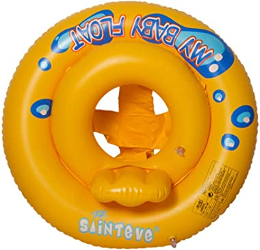 Baby Swimming Ring Float Safety Summer Beach Inflatable Beach Swim Ring Pool Infant Chair Lounge with Backrest for Unisex 1-3