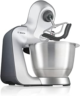 Bosch 博世 MUM59340GB 厨房料理机 1000 W 3.9 L 银色/无烟煤