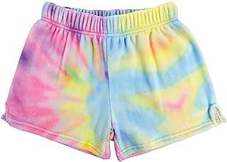 iscream Big Girls Silky Soft Plush Fleece Shorts - Boho Bliss Collection