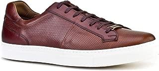 Cabani Lazerli Bağcıklı Sneaker Erkek Ayakkabı Kahve Napa Deri