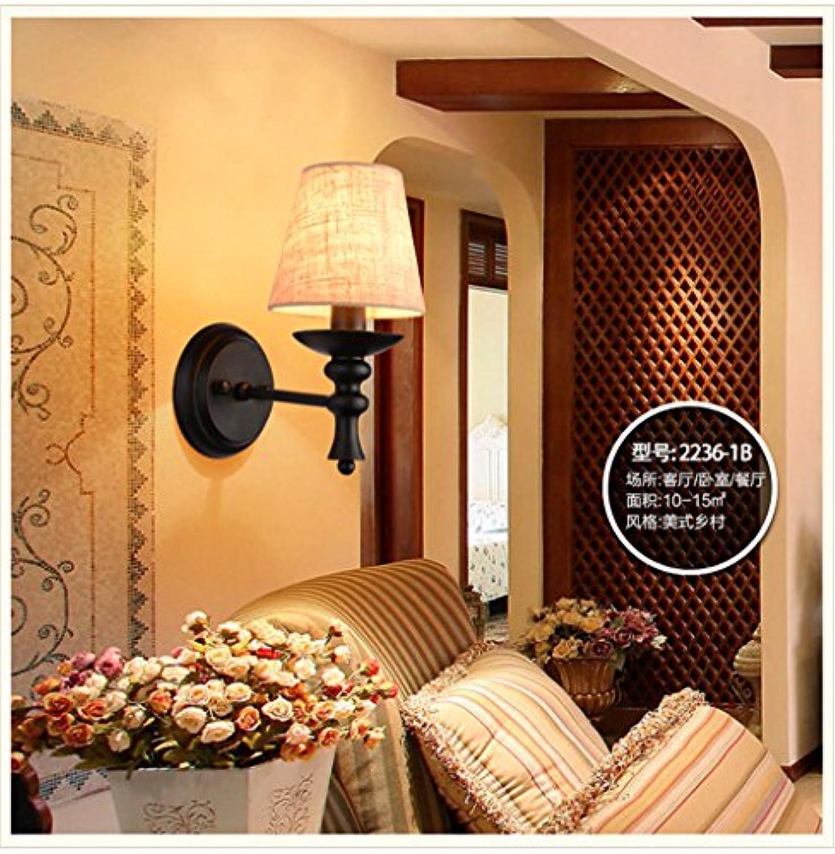 StiefelU LED Wandleuchte nach oben und unten Wandleuchten Rustikale Bügeleisen Nachttischlampe Spiegel Lampen Schlafzimmer front Arbeitszimmer Wand single Korridor gang Wandleuchten   14 x 26 cm