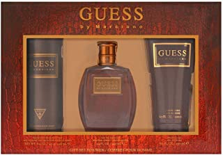 GUESS By Marciano Eau de Toilette 100 ml + Shower Gel 200 ml + Body Spray 226 ml, Gift Set for Men