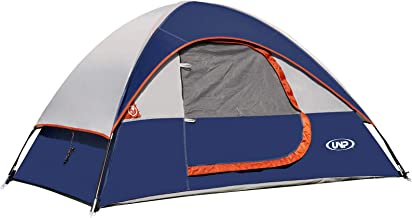 unp Camping Tent 2 Person Lightweight with Rainfly Easy...