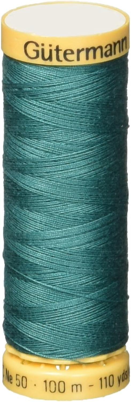 Gutermann Natural Cotton Thread 110 YardsNile Green