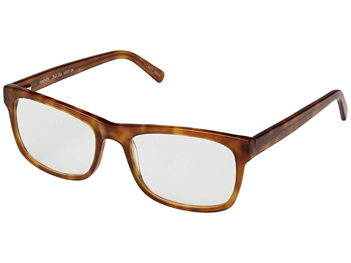 Full Zip (Orange/Tortoise) Reading Glasses Sunglasses