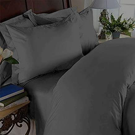 featured product Elegant Comfort 3 Piece 1500 Thread Count Luxury Ultra Soft Egyptian Quality Coziest Duvet Cover Set,  Full/Queen,  Gray
