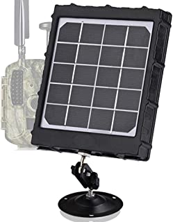 Trail Camera Solar Power Panel 8000mAh 3W Supporting 12V...