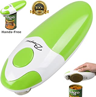 Kitchen Restaurant Mama Manual Automatic Safety Electric Can Opener& Bangrui Professional Electric Can Opener.One-touch switch .Smooth can edge.Being friendly to left-hander and arthritics! (Green)