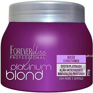 Máscara Platinum Blond Matizadora, FOREVER LISS, 250gr