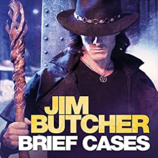 Brief Cases                   By:                                                                                                                                 Jim Butcher                               Narrated by:                                                                                                                                 James Marsters                      Length: 15 hrs and 30 mins     422 ratings     Overall 4.7