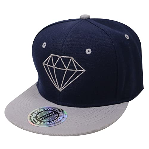 City Hunter Cf918t Diamond Snapback Cap - 5 Colors 09b5217e4bf8